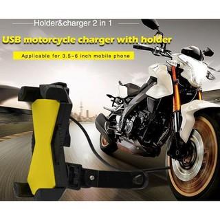 Holder Motor Charger Smartphone DC for Motorcycle - Sambung Ke Aki | Shopee Indonesia