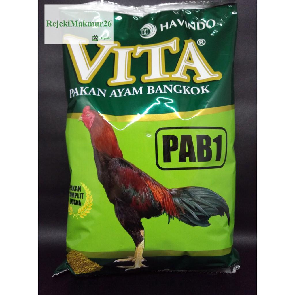 Pakan Ayam Bangkok Anakan Vita Pab1 Shopee Indonesia