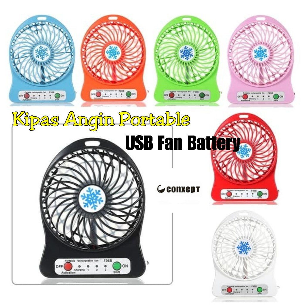 Lahot Promo Sale Kipas Mini Usb Portable Shopee Indonesia Angin Fan Besi Kokoh