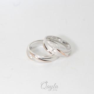 Cincin Couple, Cincin Kawin dan Cincin Tunangan Perak Lapis Rhodium model baru