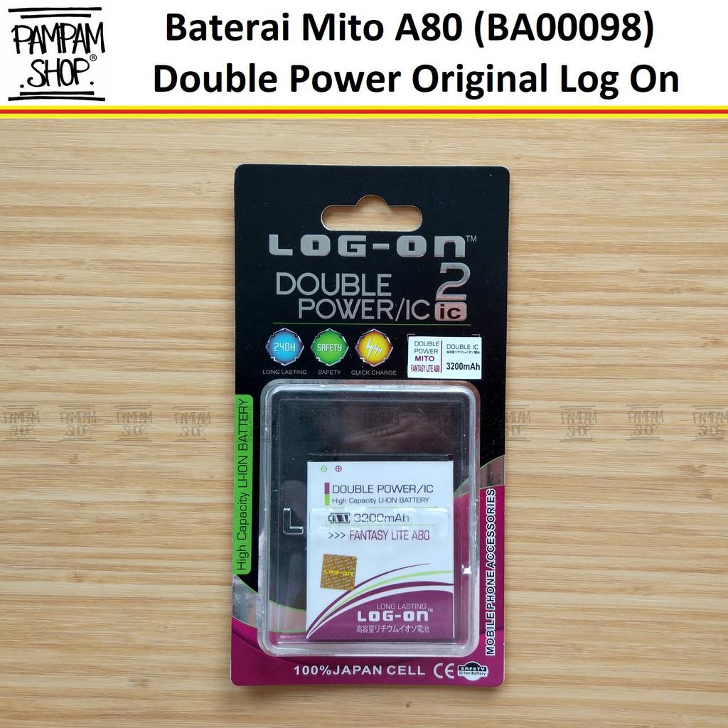 Baterai Mito Fantasy Style A550 BA-00119 BA00119 Original Double Power Batre Batrai BA 00119 Fantasi | Shopee Indonesia