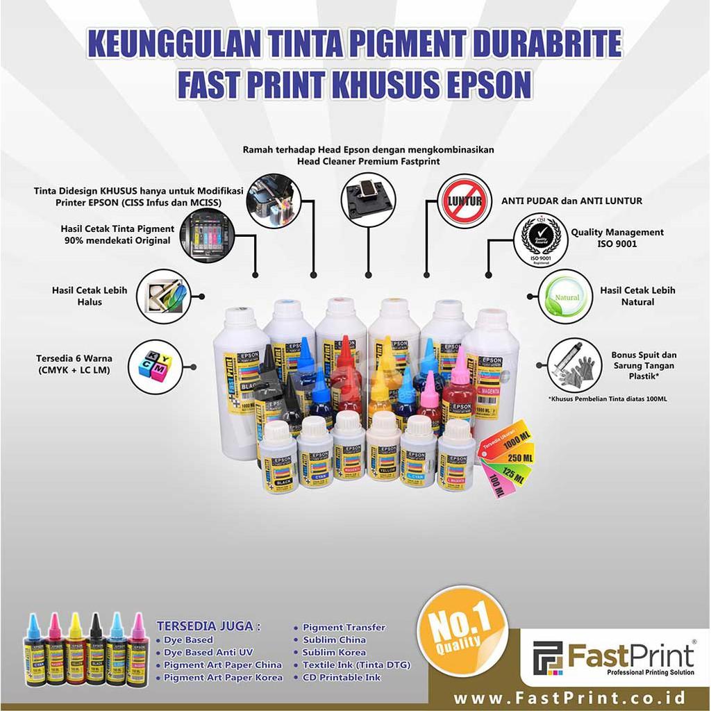 Tinta Photo Ultimate Plus Uv 70ml Printer Epson L Series L100 L110 Fast Print Magenta Khusus 6 Warna L800 L850 L1800 L120 L200 L210 L300 1set 4warna Shopee Indonesia