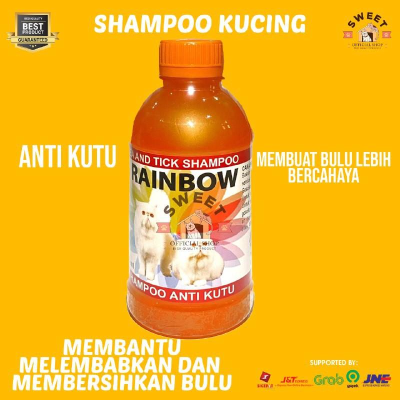 Rainbow - Shampo Anti Kutu Kucing Original 250 ml-3