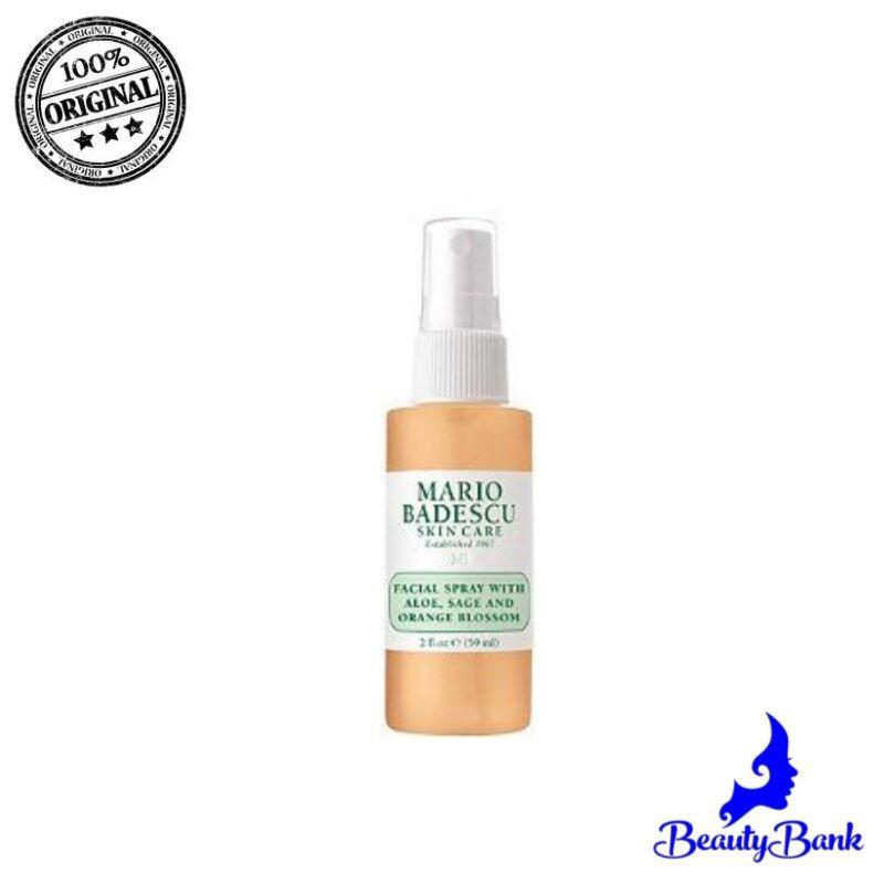 Facial Spray With Aloe Sage And Orange Blossom 2 Oz