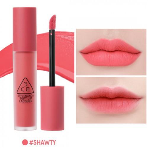 3ce 3ce Lacquer Lip Soft Lip 3ce Lacquer Soft Soft Lip