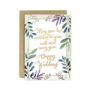 Kartu Ucapan Wedding / Pernikahan Dreamy Wedding Wishes ...