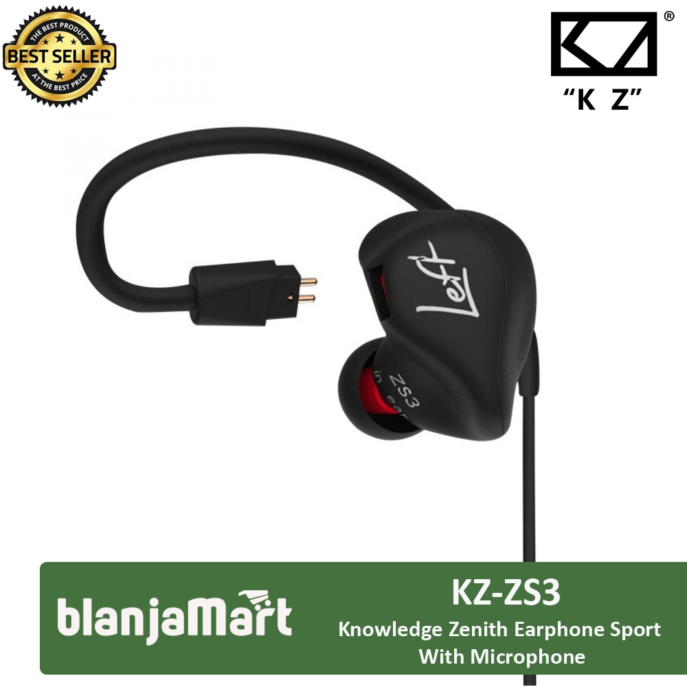 Earphone Headset Superbass Waterproof Knowledge Zenith With Mikrofon Mic Qkz S6 Bisa Terima Telepon Shopee Indonesia
