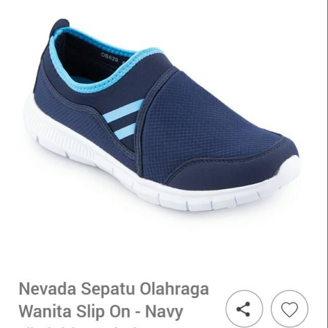 Nevada sepatu Lari Pria simple  10c6f86757