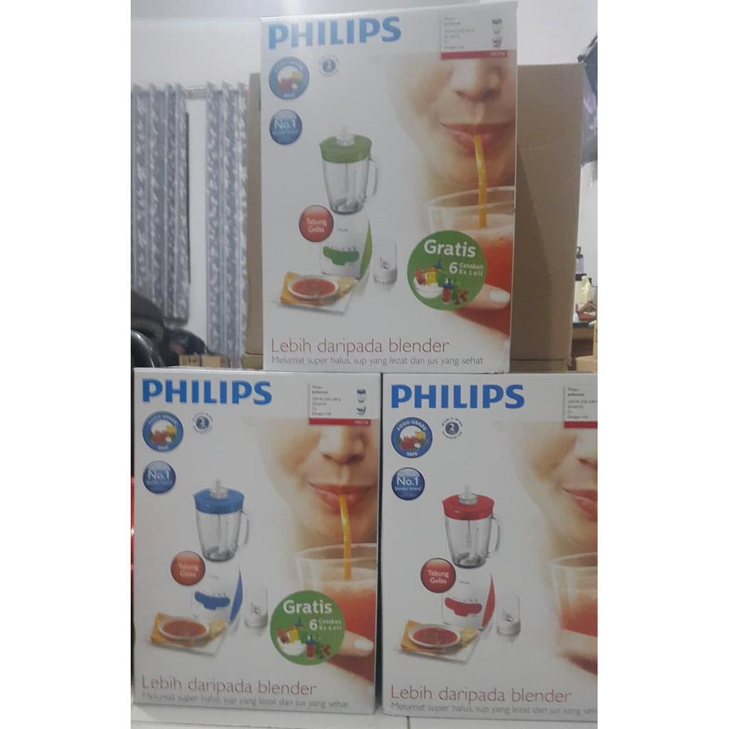 Blender Philips Hr 2116 Gelas Kaca Shopee Indonesia Hr2116 Hijau Putih