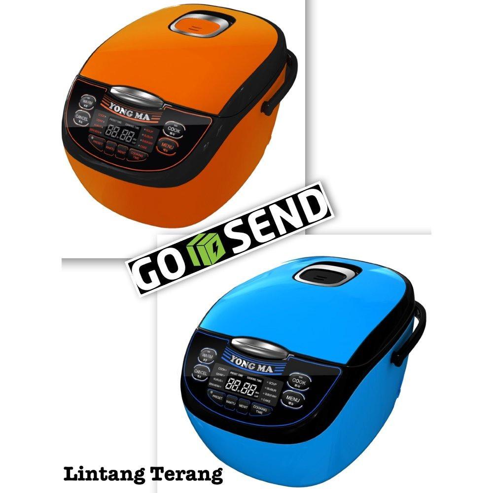 Yong Ma Ymc 105 Tank Edition Rice Cooker Orange Daftar Harga Mc 3480 Black Tinum Yongma Digital 2 L Ymc116 116 Shopee Indonesia