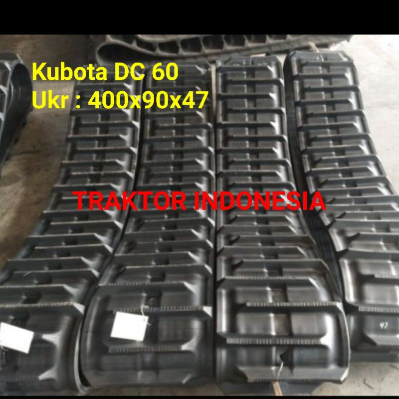 Crawler Track Rubber Track Combine Harvester Kubota DC 60