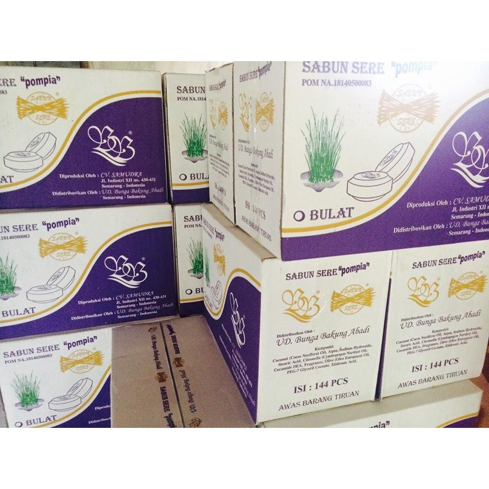Sabun Sere Sereh Serai Pompia Bulat Shopee Indonesia 160 Gram Herborist