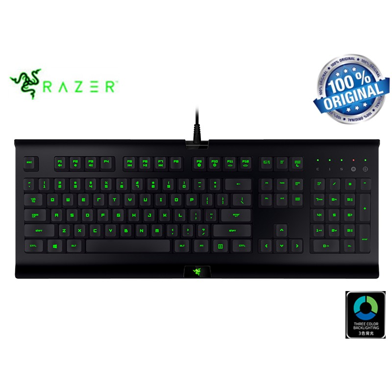 Original Razer Cynosa Pro Gaming Keyboard Kabel Usb Dengan Backlight 3 Warna Shopee Indonesia