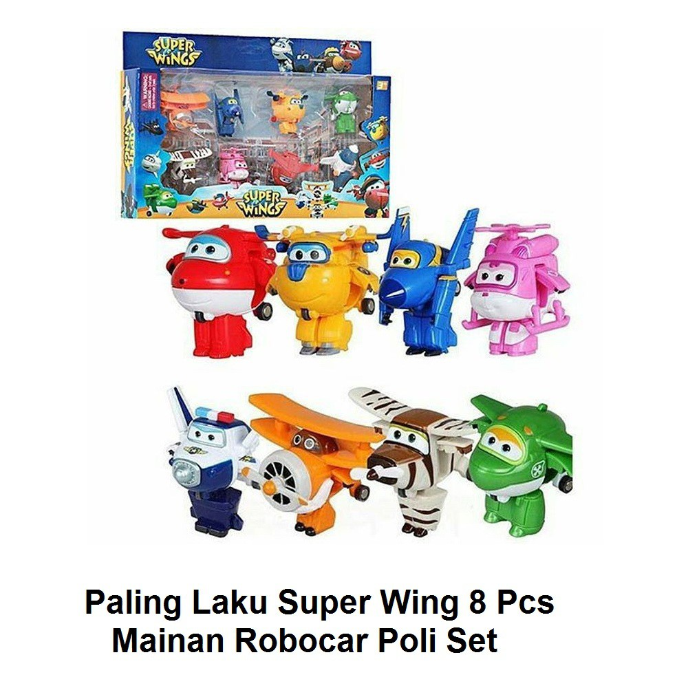 Super Sale Mainan Robocar Poli Marine Ori Import Korea Shopee 1 Set Indonesia