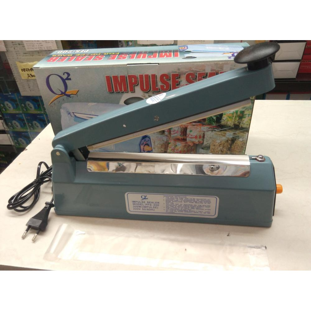 Impulse Sealer Q2 20 cm / impulse sealer Q2 8200 / Alat Press Plastik Q2  