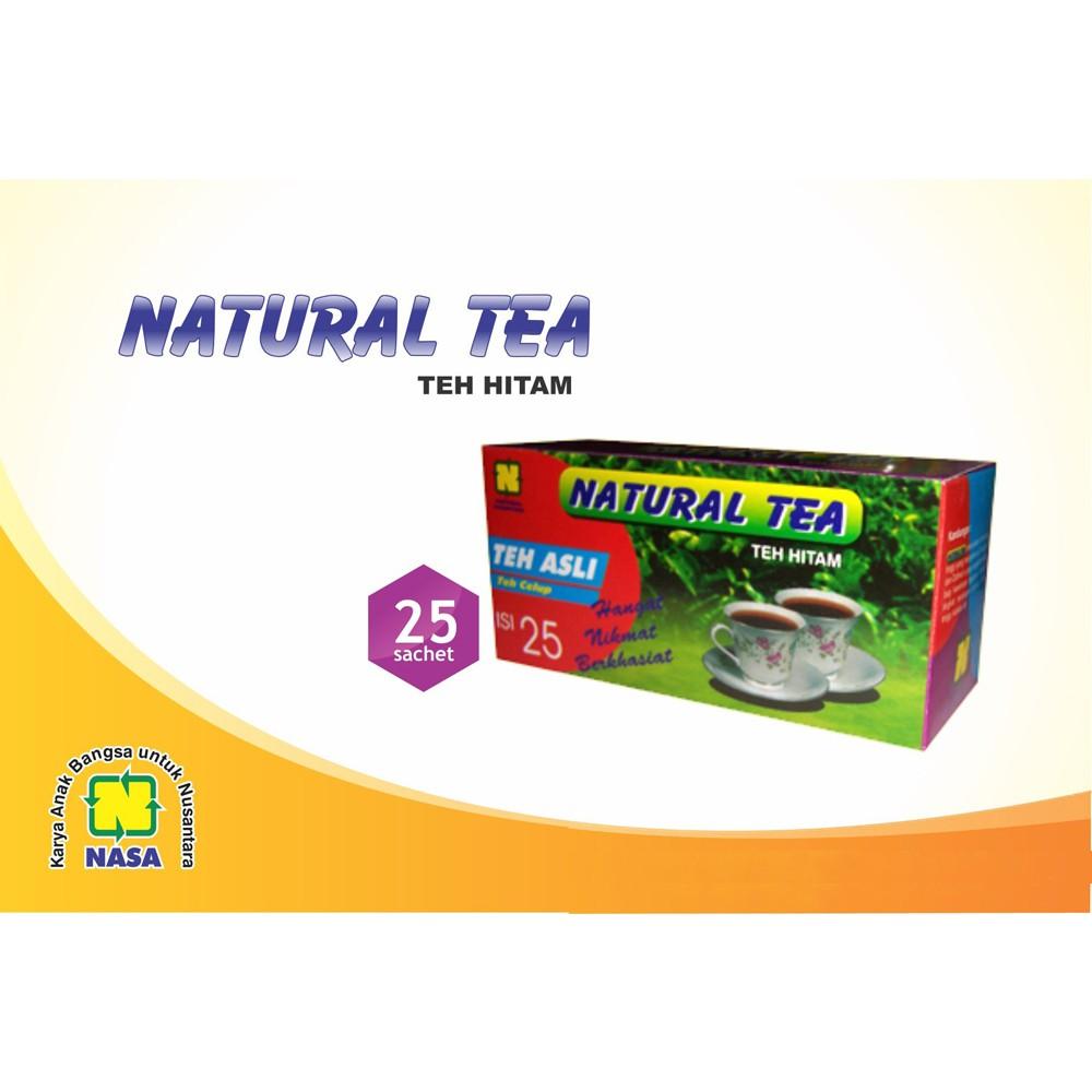Natural Tea Teh Hitam Asli Nasa Shopee Indonesia Blesstea Original Ori