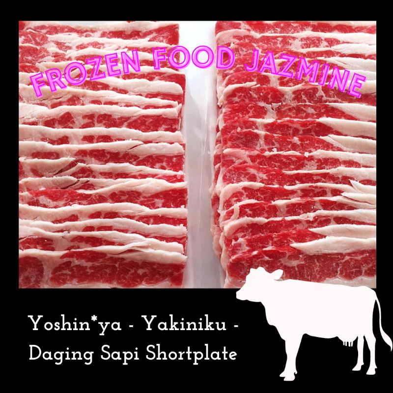 Daging Sapi Shortplate Slice 500gr
