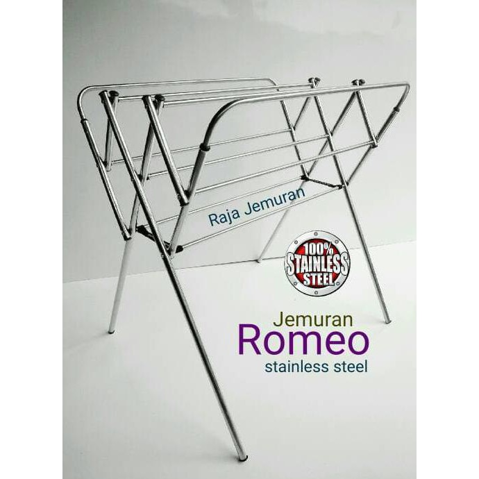 Promo Korean Drying Rack - Jemuran Praktis Korea Stainless Steel Gratis Ongkir | Shopee Indonesia