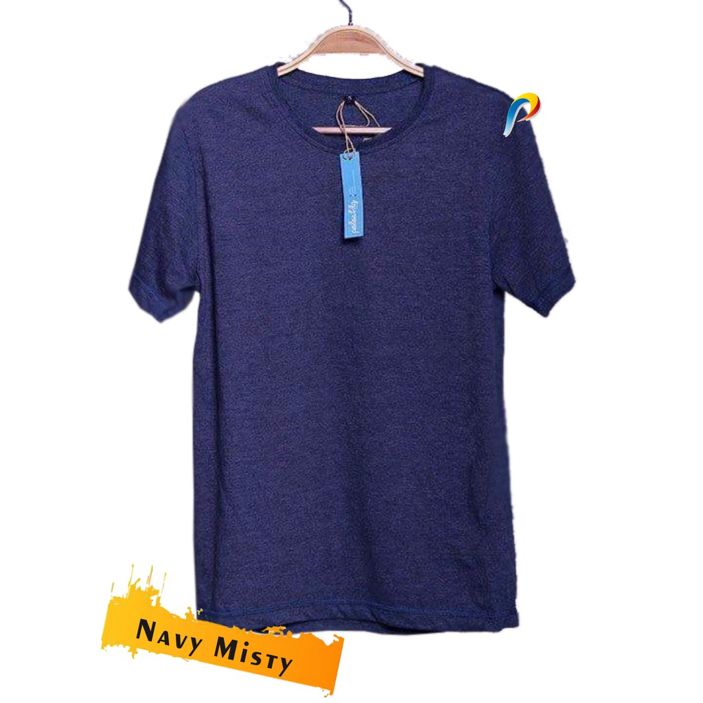 Kaos Polos Cotton Combed 30s Premium Size S M L Shopee Indonesia 100 Persen Real
