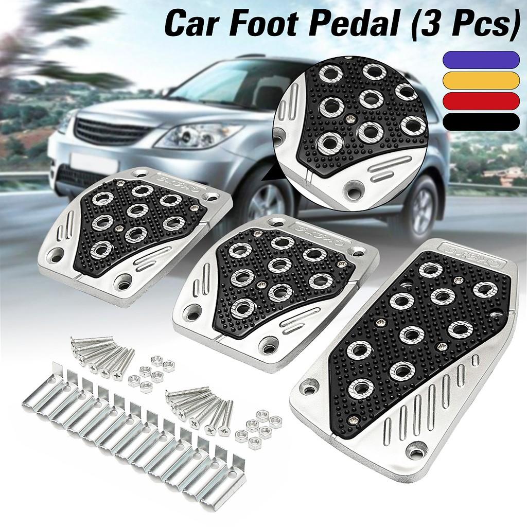 3Pcs Cover Pedal Transmisi Rem Mobil Anti Slip Warna Biru | Shopee Indonesia