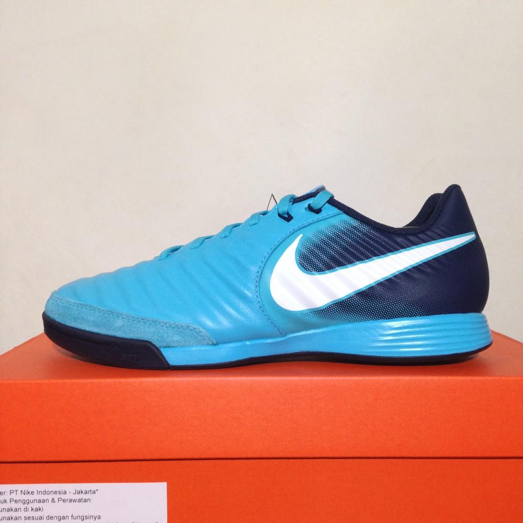 Sepatu Futsal Nike Tiempo X Ligera Gamma Blue 897765-414 Original BNIB  84b7323274