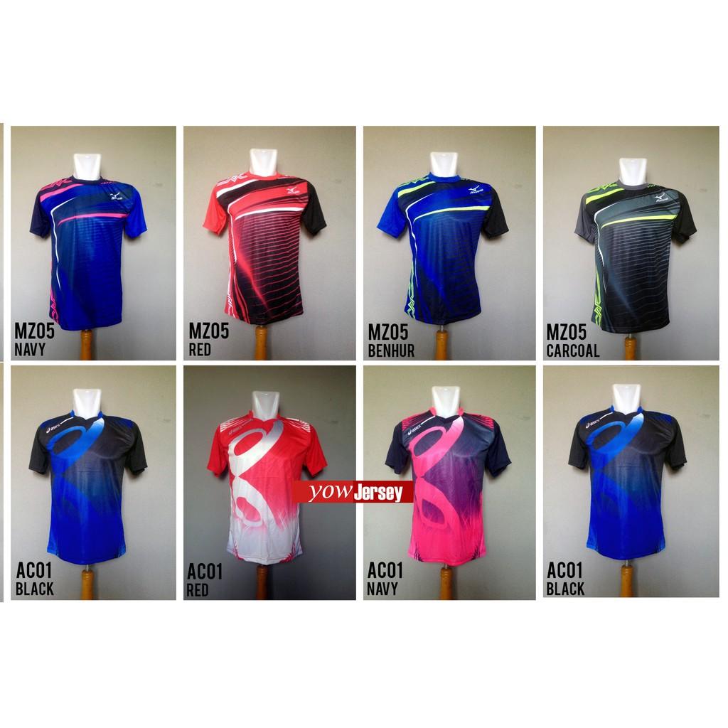 Promo Spesial.!! Kaos Voli Jersey Volley Asics Mizuno Molten Murah ... a81eb5736e