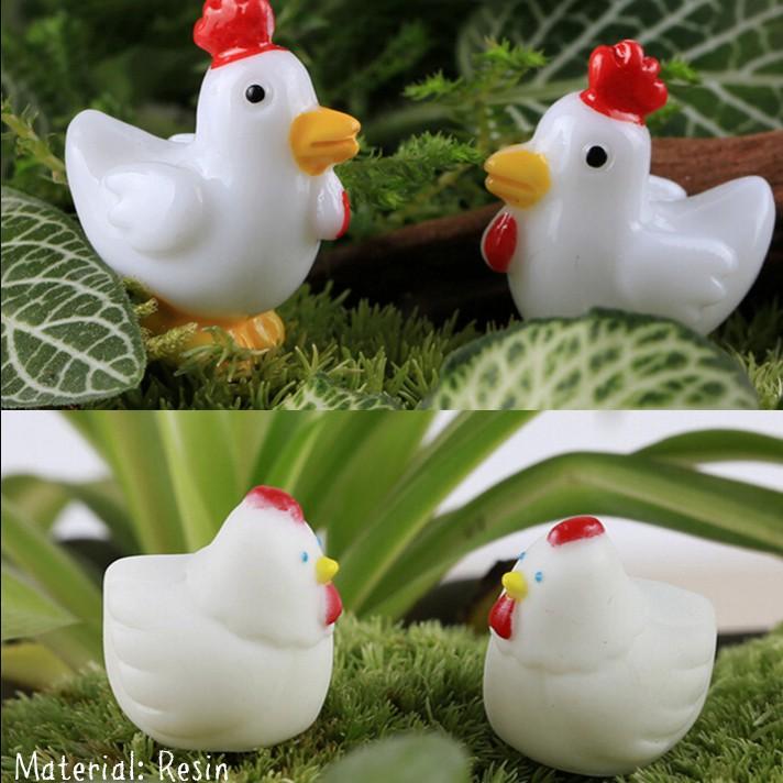Sale Murah Miniatur Ayam Jantan Betina 1 Pasang Shopee Indonesia
