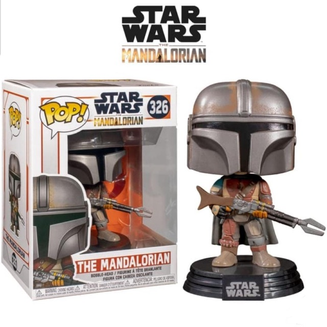 Le Mandalorien Star Wars Vinyl Figure #326 Funko Pop