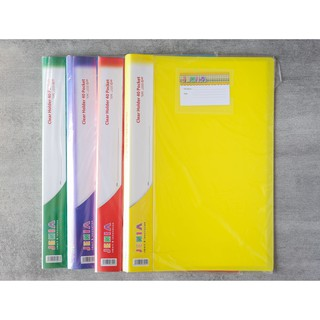 Clear Holder Polos 60 Poket Folio