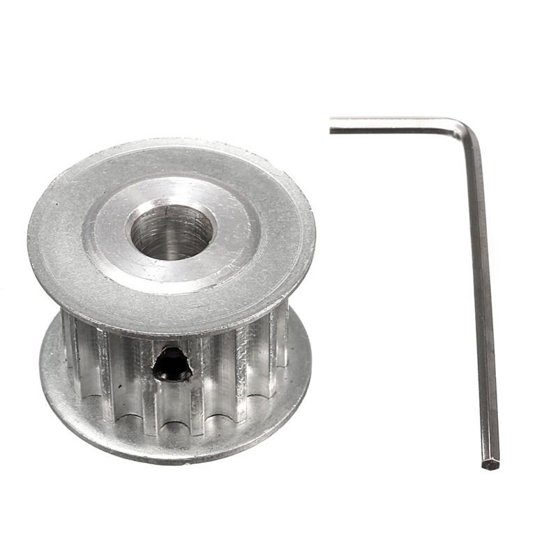 5M HTD5M Aluminum Timing Belt Pulley 35 Teeth 10mm Bore 16mm width Stepper Motor