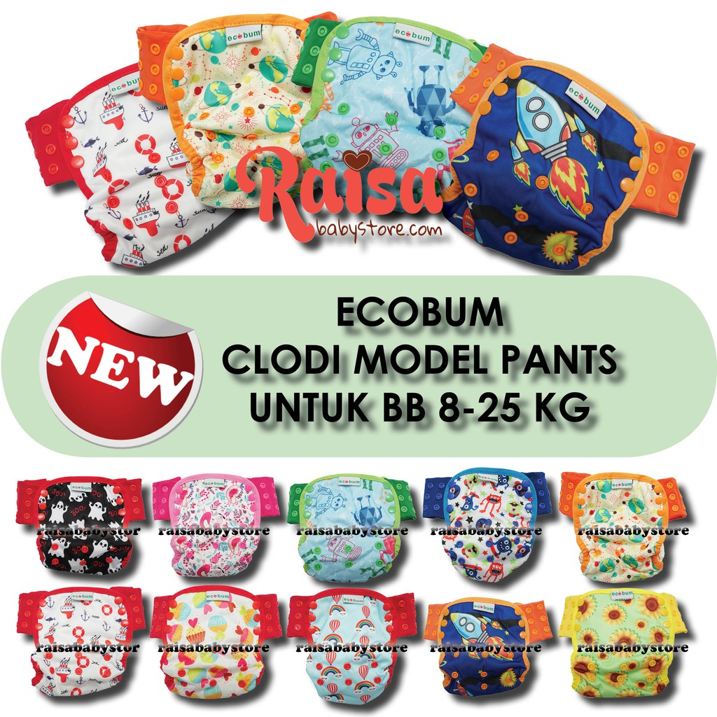 Promo Belanja Ecobum Online Oktober 2018 Shopee Indonesia Super Trainer Cloth Diaper Popok Kain Motif 5