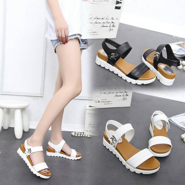 Sandal Import - Sandal Wanita - Sandal Wedges IB-522