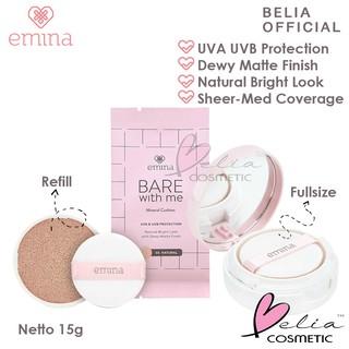 BELIA EMINA Bare with Me Mineral Cushion 15g refill fullsize BB cushion emina thumbnail