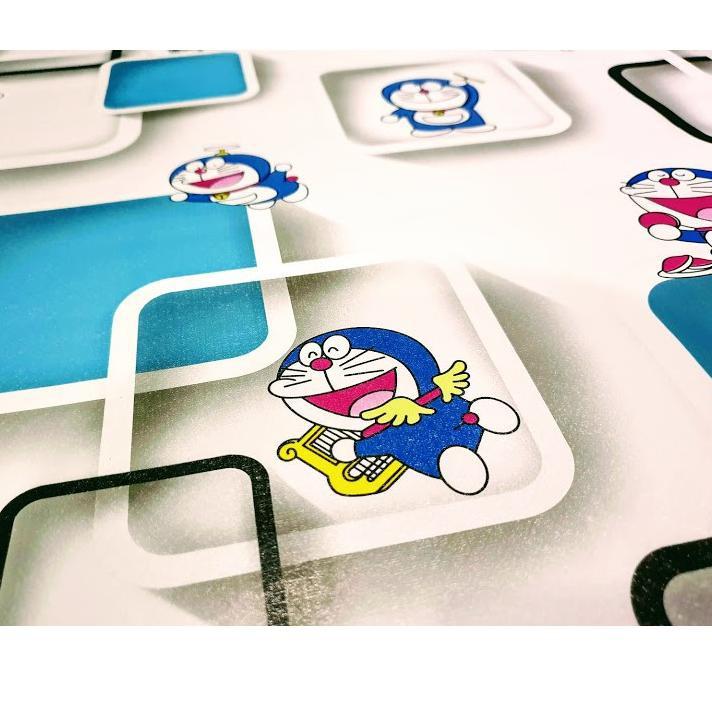 Lagi Tren Baru Murah Wallpaper Sticker Dinding Karakter Kartun Anak Doraemon Kotak Biru Putih Lu Shopee Indonesia