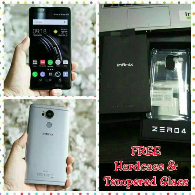 Infinix Zero 4 X555 4G/RAM 3GB/ROM 32GB/Camera 8MP+16MP/Fingeprint Garansi Resmi 1 tahun | Shopee Indonesia