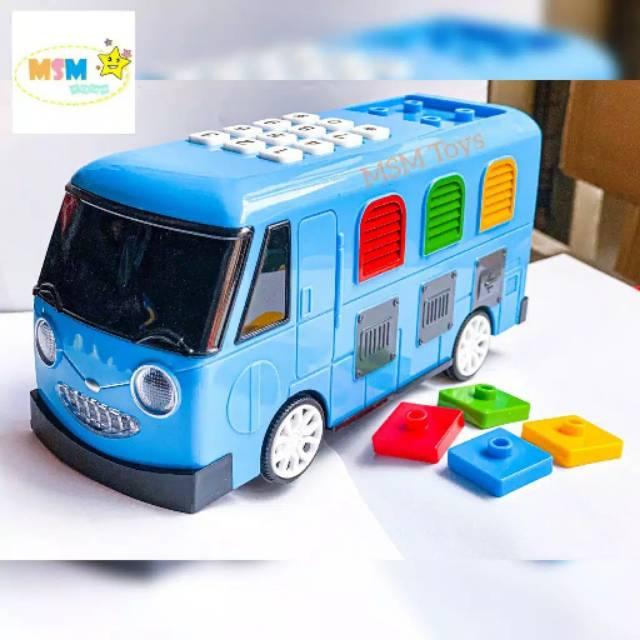 Mobil Mainan Edukasi Bis Tayo Asli Baterai Ada Music Lampu Education Toys Kado Anak Balita Bayi Shopee Indonesia