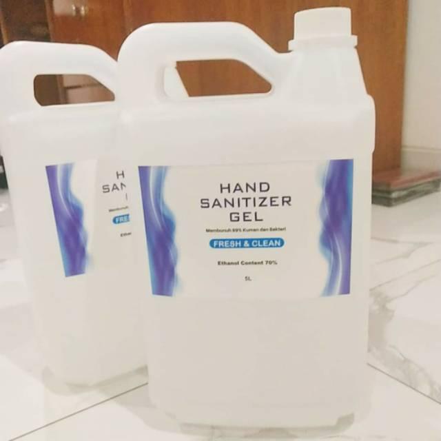 Sanitizer Gel / Hand sanitizer Gel / Sanitizer 5 Liter / Sanitizer 5Liter / Hand Sanitizer