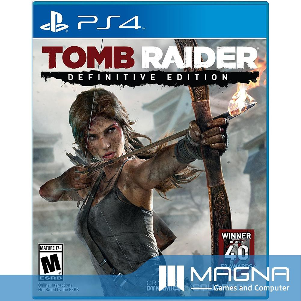 Kaset Ps4 Bd Game Shadow Of The Tomb Raider Shopee Indonesia Witcher 3 Wild Hunt Year Edition Reg3 English