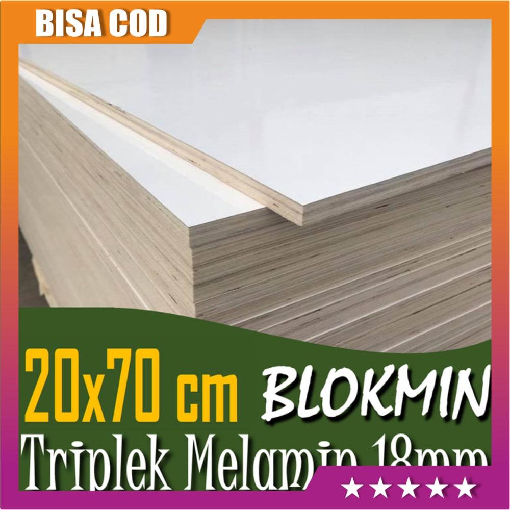 Bisa Bayar Dirumah Triplek Blokmild 18 Mm 20x70 Cm Triplek Melamin Blok 70x20 Cm Murah Shopee Indonesia Harga triplek melamin 18mm