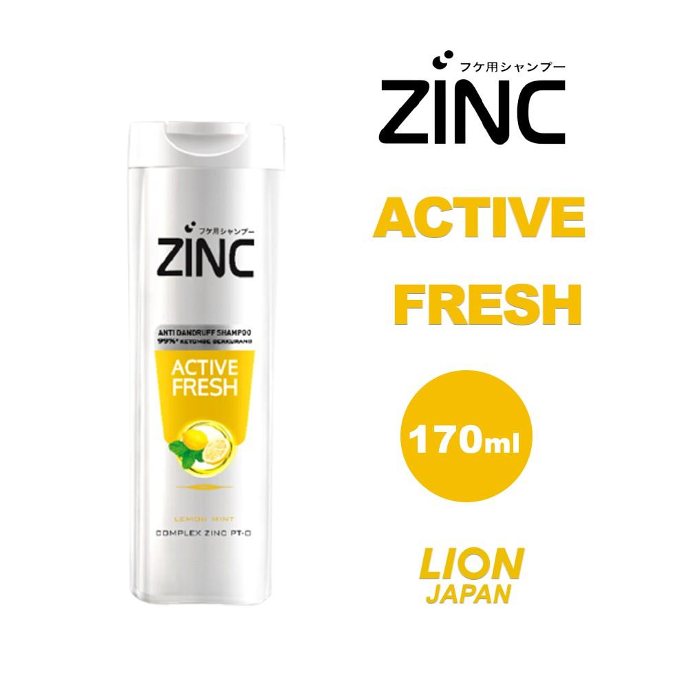 Zinc Shampoo 170ml-Active Fresh