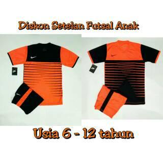 Setelan Kids Nike Baju Kaos Olahraga Jersey Bola Setelan Futsal / Volly Junior Anak Drifit