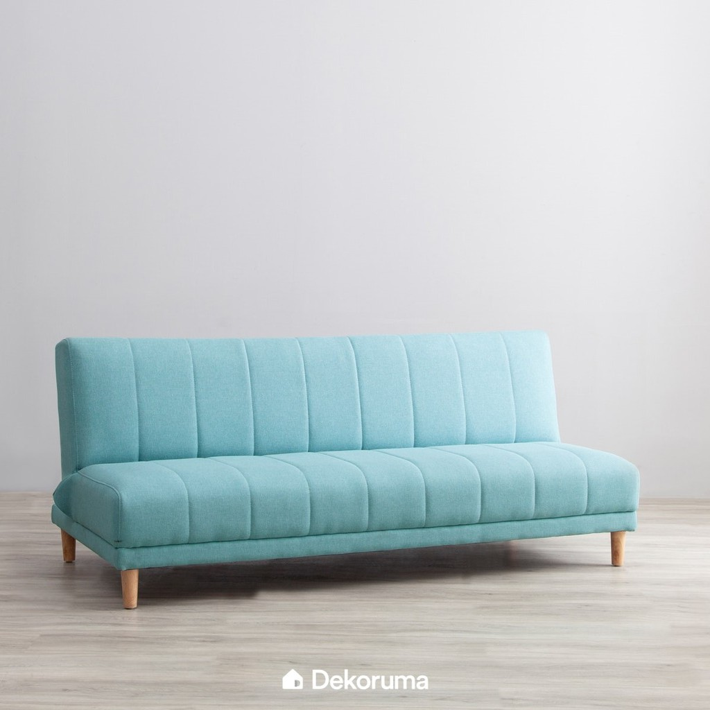 Sofa Bed Minimalis Teal Biru Muda