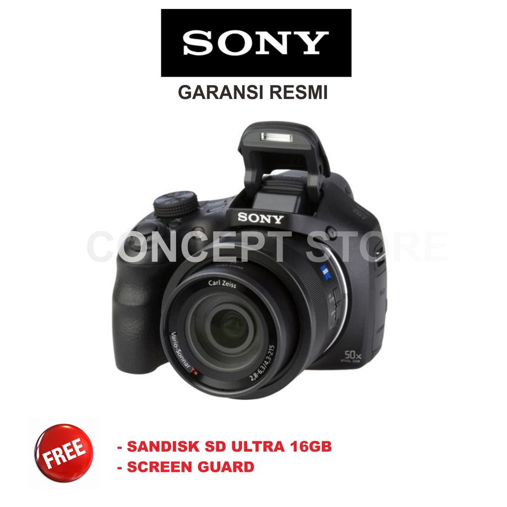 Sony Dsc Hx 350 Hx350 Shopee Indonesia H300 201 Mp 35x Optical Zoom Free Sdhc 16gb