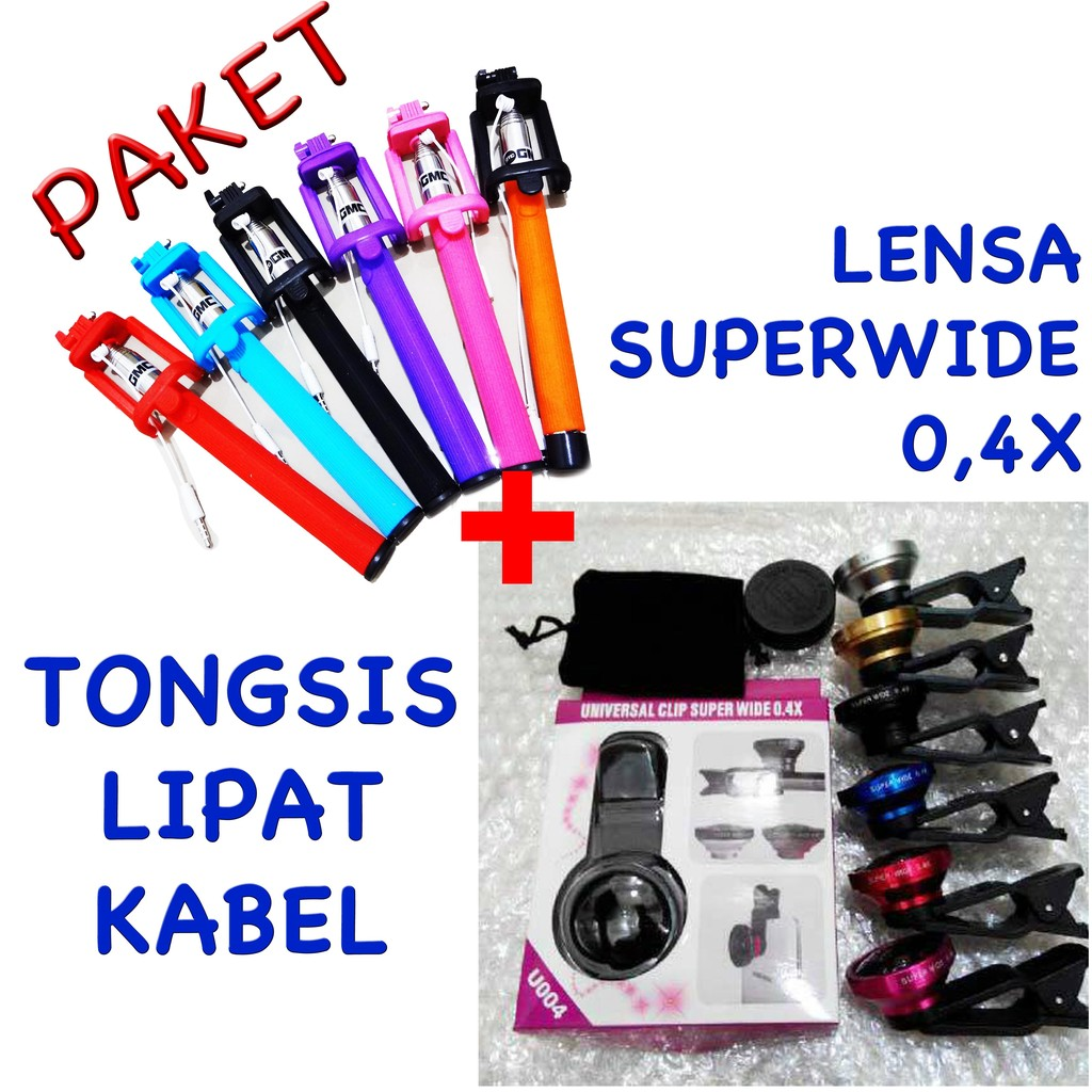 Paket Special Stitch Tongsis Powerbank Charger Superwide Daftar Hemat Minnion 3in Super Hello Kitty Shopee Indonesia