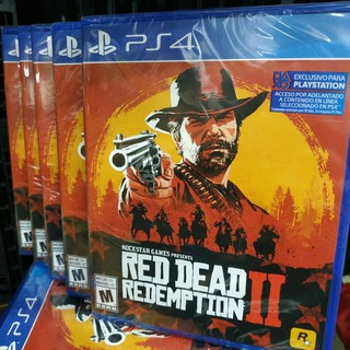 RED DEAD REDEMPTION 2 reg3 game PS4 | Shopee Indonesia