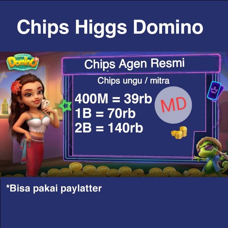 Chip Ungu Domino Higgs Island MD