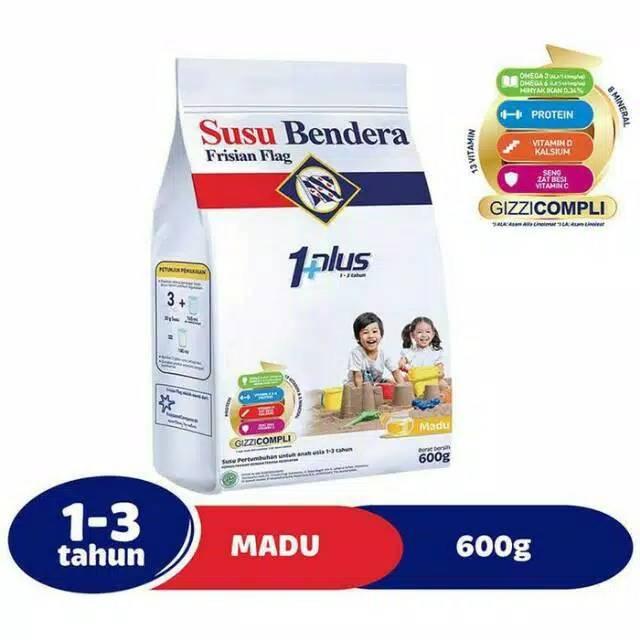 Promosi Susu Bendera 1 Plus 123 Rasa Madu 600gr Susu Murah Shopee Indonesia