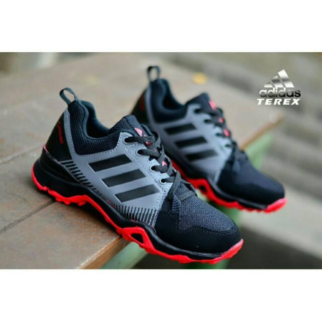 Sepatu Adidas Terex Goretex Pria Running Shoes Tracking Hiking Gym