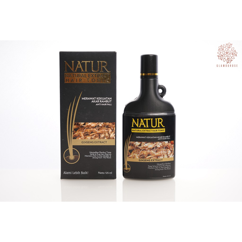 Natur Hair Tonic Extract Aloevera 125ml Shopee Indonesia Rudy Hadisuwarno Styling Foam Strong 2000 Ml