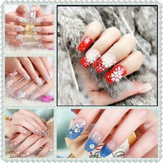 24 Pcs Stiker Kuku Palsu Untuk Manicure Nail Art thumbnail